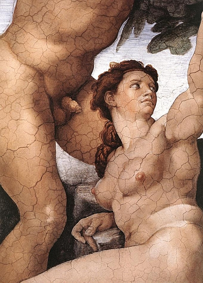 michelangelo-eve-detail